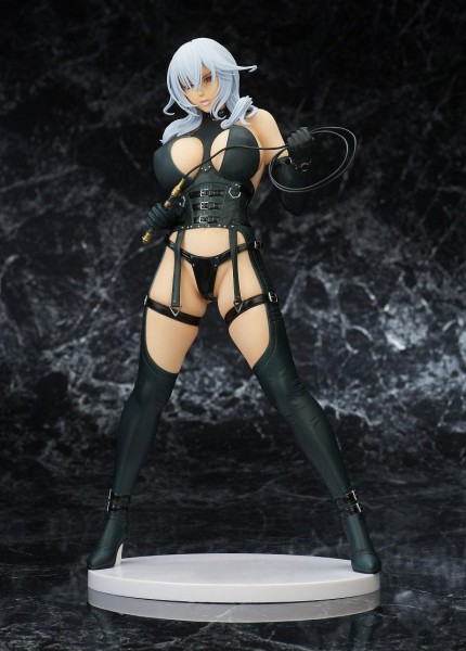 Rei Homare Art Works - Silver Whip Statue: Lechery