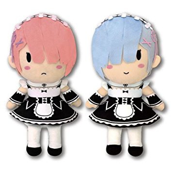 Re:ZERO Starting Life in Another - Rem & Ram Plüschie-Set: System Service
