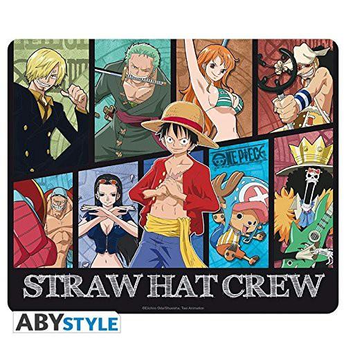 One Piece - Mousepad Strohhut-Piratenbande / Neue Welt