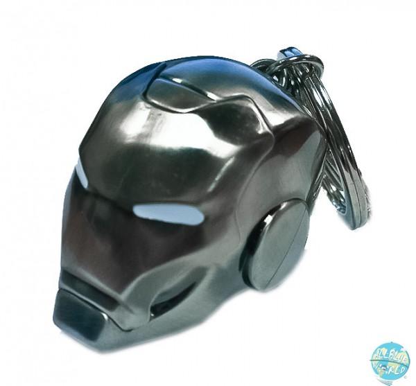 Marvel Comics - Iron Man Mark II Helm Metall-Schlüsselanhänger: SeDi