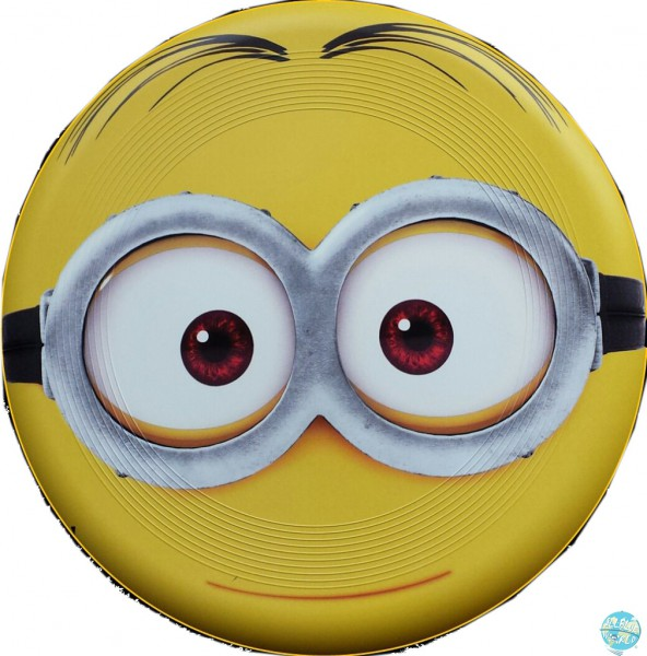 Minions Wurfscheibe - Frisbe Goggle Head 22cm
