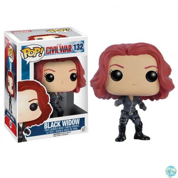 Captain America Civil War - Black Widow Figur- POP!: Funko