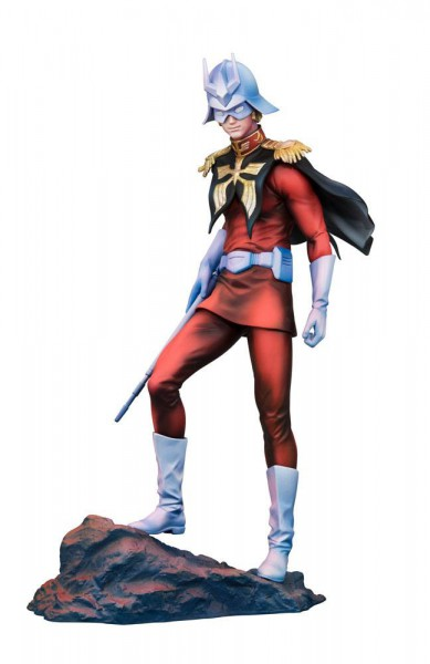 Mobile Suit Gundam GGG - Char Aznable Statue / Art Graphics Version: MegaHouse
