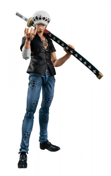 One Piece - Trafalger Law Actionfigur / Variable Action Heroes: MegaHouse