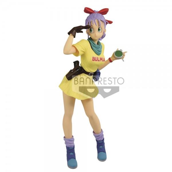 Dragonball - Bulma Figur / Glitter & Glamours Version III - Color B: Banpresto