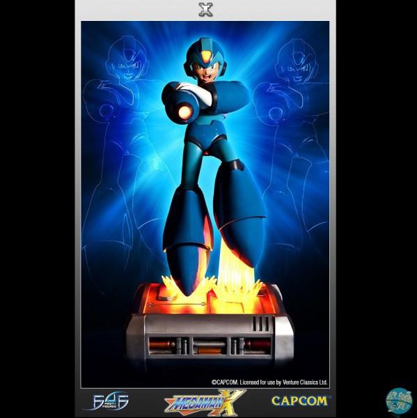 Mega Man X - Mega Man Statue: First 4 Figures