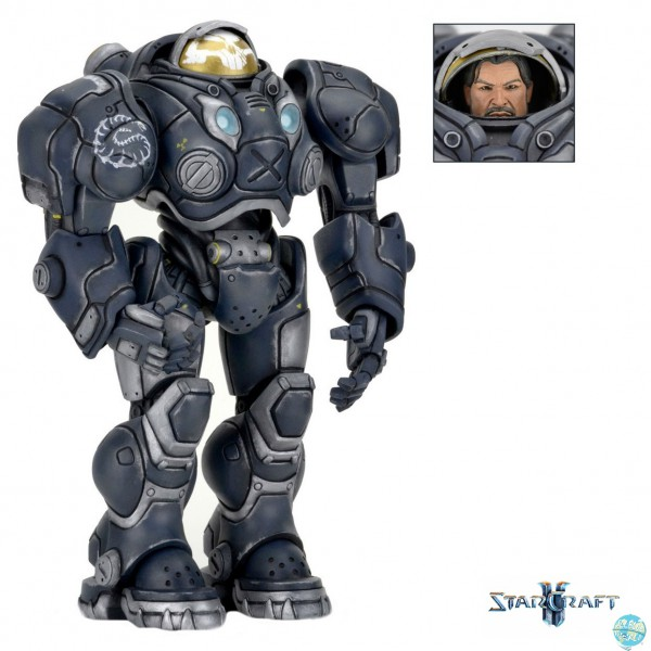 Starcraft - Raynor Actionfigur - Heroes of the Storm: NECA