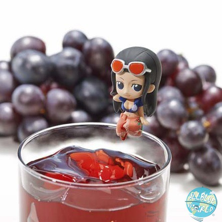 One Piece Robin MegaHouse Ochatomo Serie Teatime of Pirates 4 cm