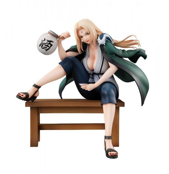 Naruto Gals - Tsunade Statue / Version 2: MegaHouse