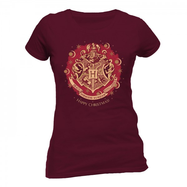 "Harry Potter - T-Shirt / Happy Christmas - Girlie ""S"": CID"