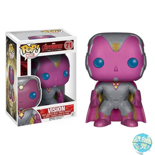 Avengers Age of Ultron: Vision Figur - POP!: Funko