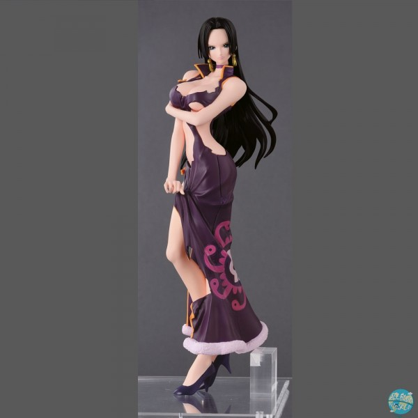 One Piece - Boa Hancock Figur - Glitter & Glamours / Crash Style Version: Banpresto