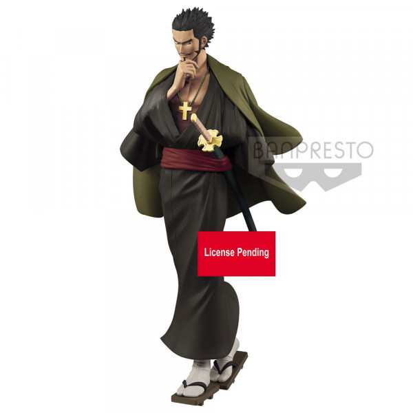 One Piece - Dracule Mihawk Figur / Treasure Cruise World Journey: Banpresto
