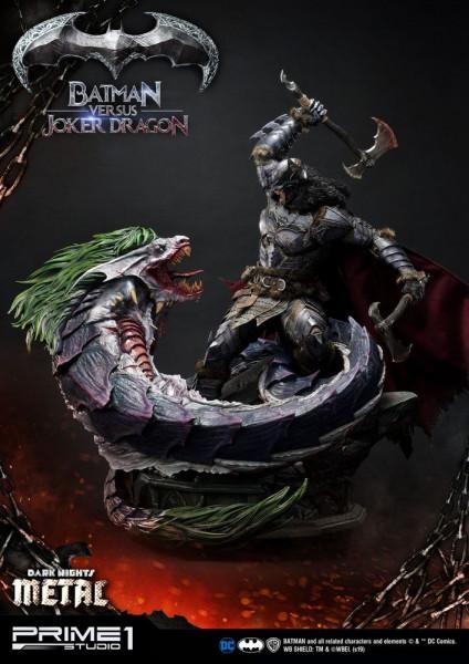 Dark Nights: Metal - Batman Versus Joker Dragon Statuen: Prime 1 Studio