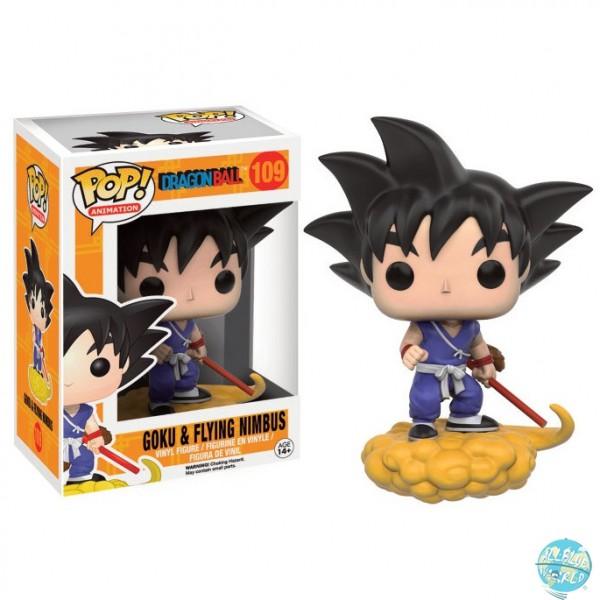 Dragonball Z - Goku auf Jindujun Figur - POP: Funko