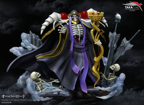 Overlord- Ainz Ooal Gown Statue: Taka Corp Studio
