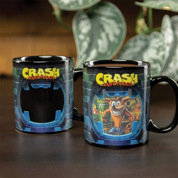 Crash Bandicoot - Tasse mit Thermoeffekt / Crash Bandicoot: Paladone