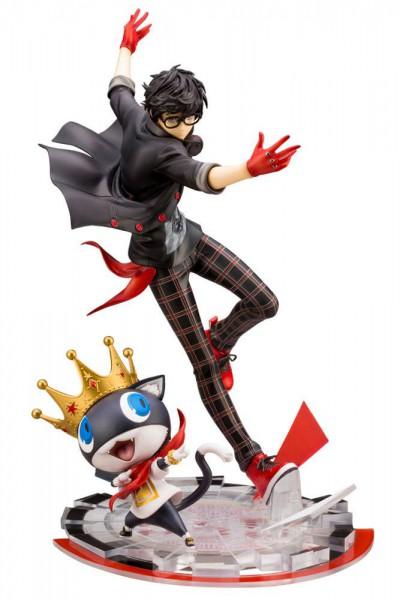 Persona 5 - Joker & Morgana Statue / ARTFXJ: Kotobukiya