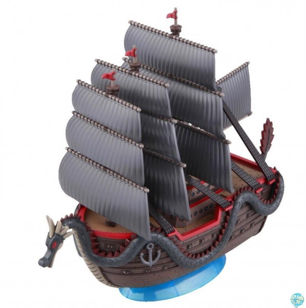 One Piece - Dragon's Ship Modell-Kit - Grand Ship Collection: Bandai
