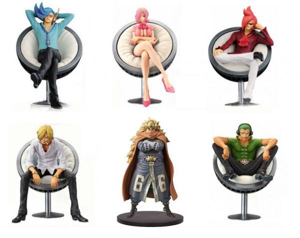 One Piece - Vinsmoke Family Figuren-Set - DXF / Vinsmoke Family Vol.: Banpresto