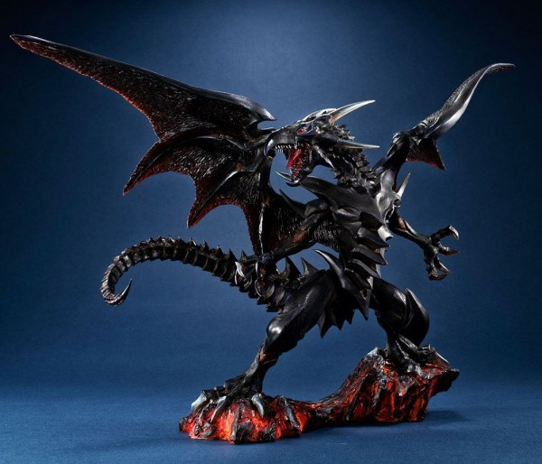 Yu-Gi-Oh! Duel Monsters - Red-eyes Black Dragon Statue / Art Works Monsters: MegaHouse
