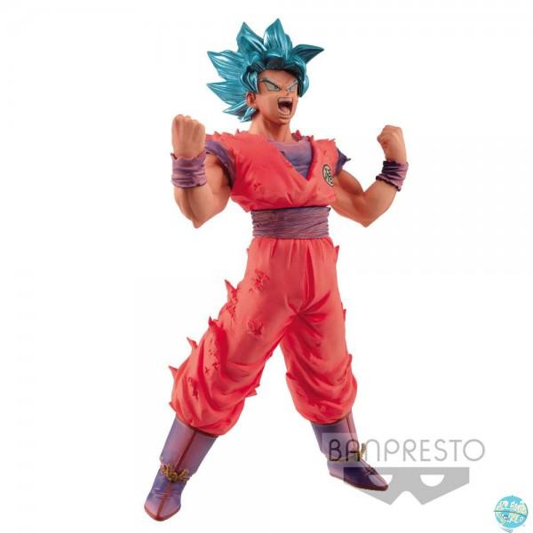 Dragonball - SSJ Blue Son Goku Figur - Blood of Saiyans: Banpresto
