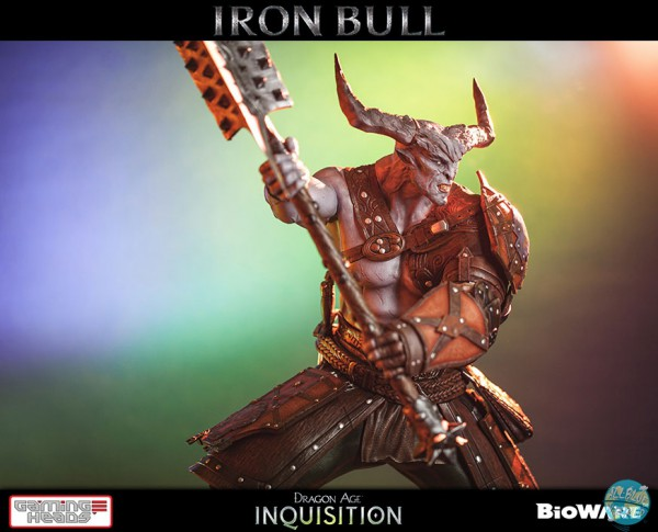 Dragon Age Inquisition - Iron Bull Statue: Gaming Heads