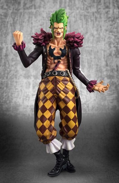 One Piece - Bartolomeo Statue - Excellent Model P.O.P. / Kai Version: MegaHouse