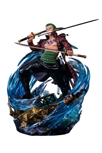 One Piece - Roronoa Zoro Statue / Log Collection: Unique Art Studio