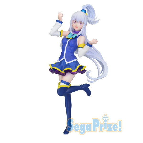 Re:Zero Starting Life in Another World - Emilia Figur / Aqua Version: Sega