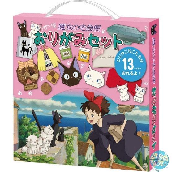 Studio Ghibli - Origami Set - Kikis kleiner Lieferservice: Benelic