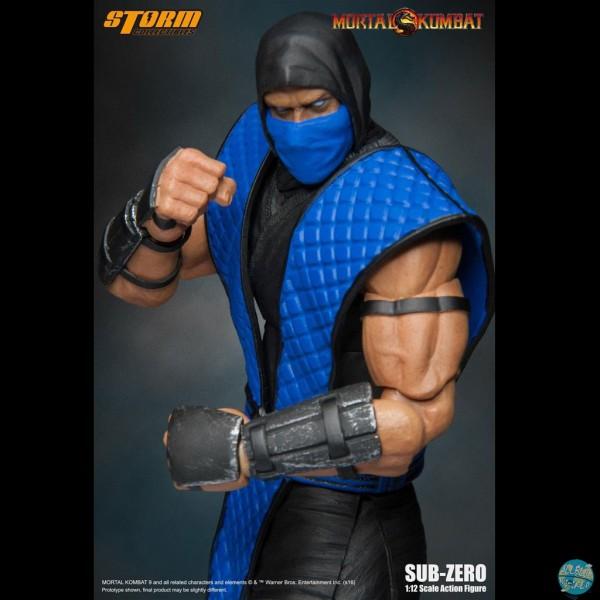 Mortal Kombat - Sub-Zero Actionfigur: Storm Collectibles