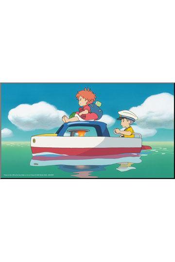 Studio Ghibli - Ponyo - Das große Abenteuer am Meer Holzdruck Ponyo & Sosuke: Semic