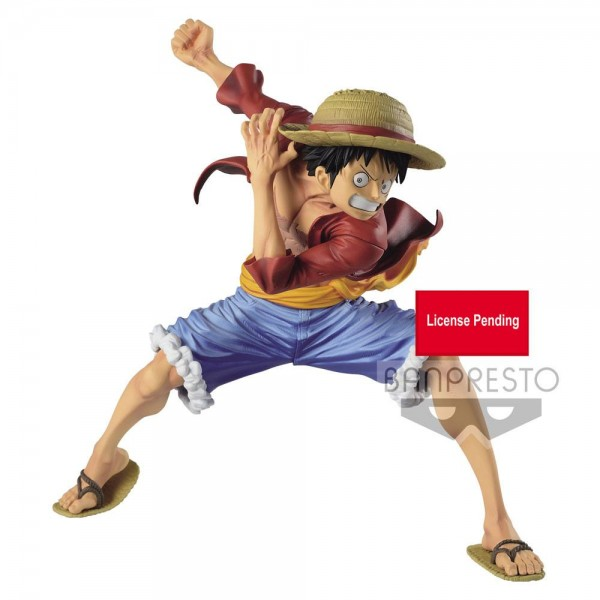 One Piece - Monkey D. Ruffy Figur / Maximatic: Banpresto