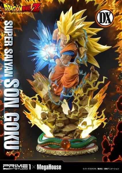 Dragon Ball Z - Super Saiyajin Son Goku Statue / Deluxe Version: Prime 1 Studio