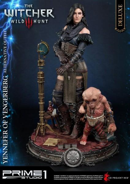 Witcher 3 Wild Hunt - Yennefer von Vengerberg Statue / Alternative Outfit - Deluxe: Prime 1 Studio