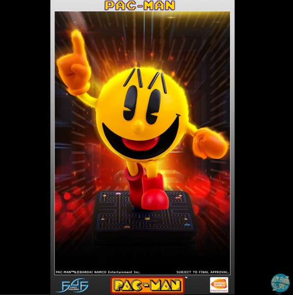 Pac-Man Statue: First 4 Figures