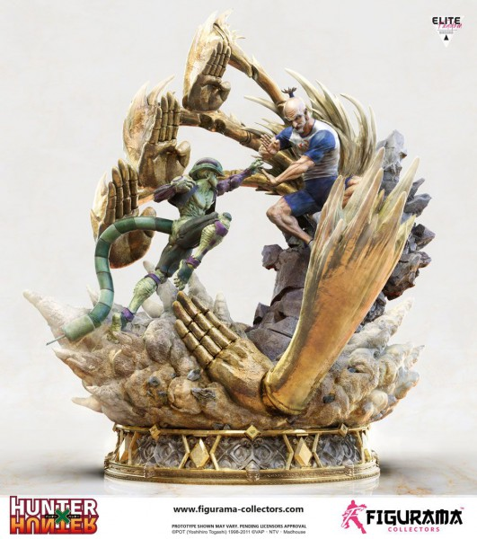 Hunter x Hunter - Netero vs Meruem Statue: Figurama