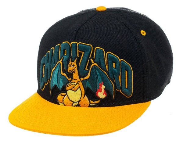 Pokemon - Charizard Hip Hop Cap - Snap Back: Bioworld