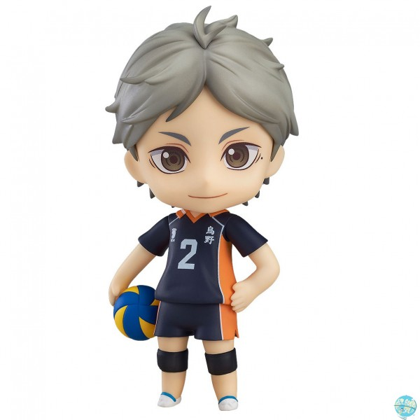 Haikyu!! Third Season - Koushi Sugawara Nendoroid: Orange Rouge