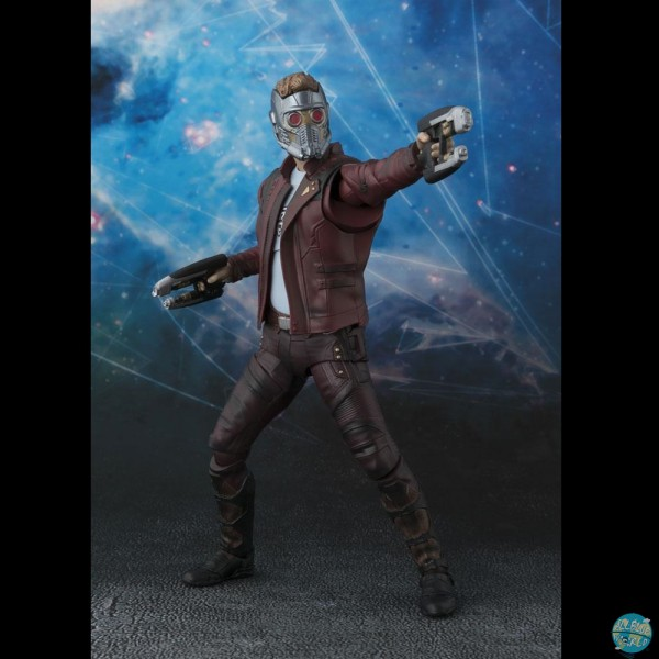 Guardians of the Galaxy Vol. 2 - Star-Lord & Explosion Actionfigur - S.H.Figuarts: Bandai