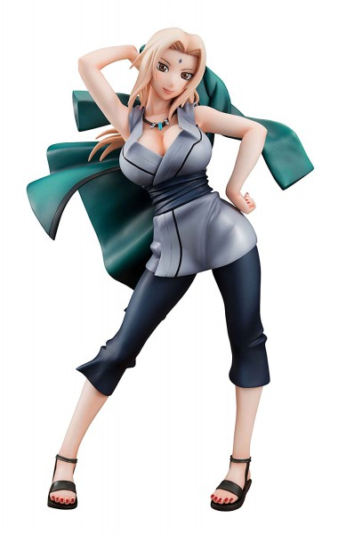 Naruto Gals - Tsunade Statue: MegaHouse