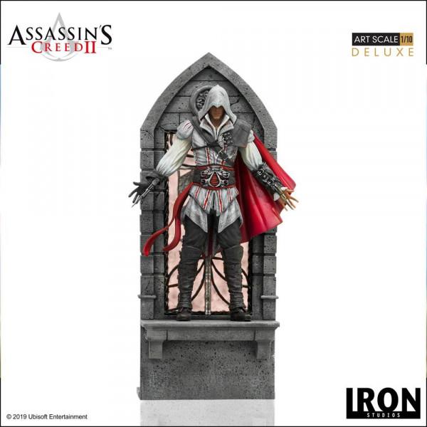 Assassin's Creed Origins - Ezio Auditore Satue / Deluxe Version: Iron Studios