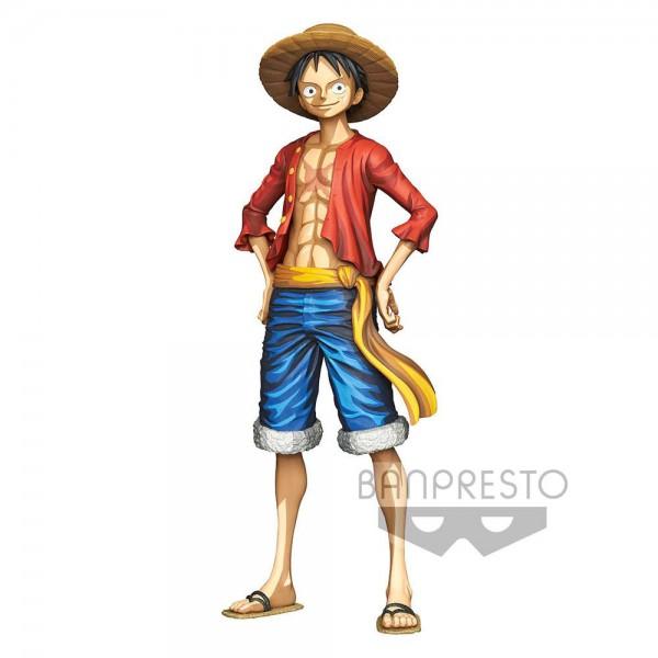 One Piece - Ruffy Figur / Grandista - Manga Dimension: Banpresto