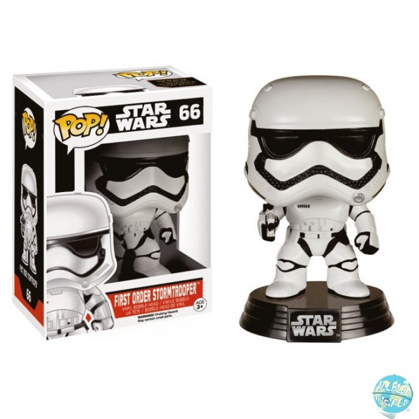 Star Wars Episode VII - First Order Stormtrooper Figur - POP: Funko