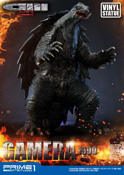 Gamera 3 The Revenge of Iris - Gamera Statue / Vinyl Version: Prime 1 Studio