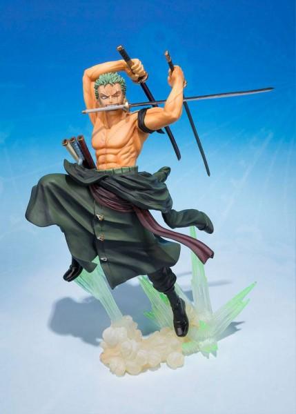One Piece - Zorro Figur - Figuarts ZERO / Battle Version *Ultra-gari*: Bandai