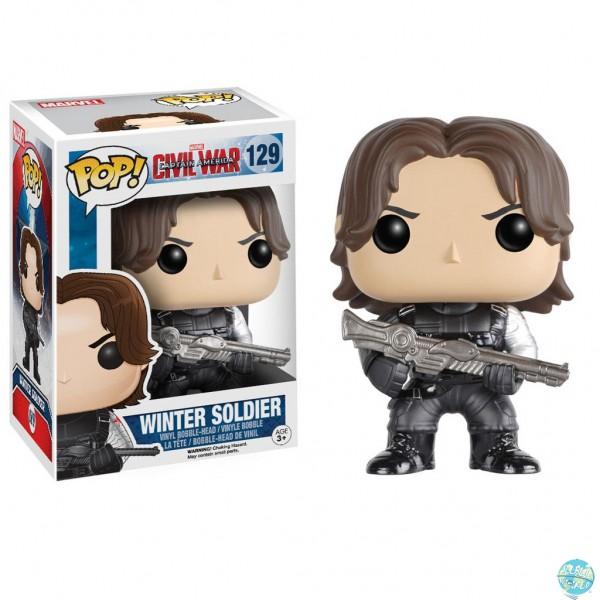 Captain America Civil War - Winter Soldier Figur - POP!: Funko
