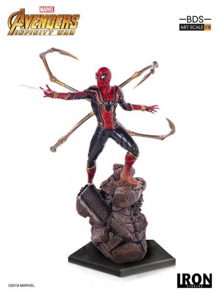 Avengers Infinity War - Iron Spider-Man Statue / BDS Art: Iron Studios
