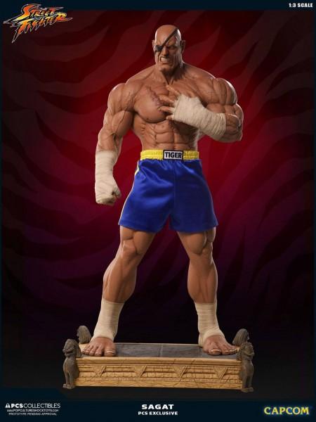 Street Fighter - Sagat Statue / PCS Exclusive: Pop Culture Shock